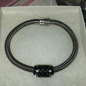 Men's AAGAARD Stainless Steel Bracelet w/Link